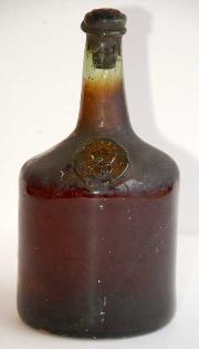 Tokaji circa 1650. Possibly the oldest intact bottle extant. Believed listed in the 1929 Dresden auction.